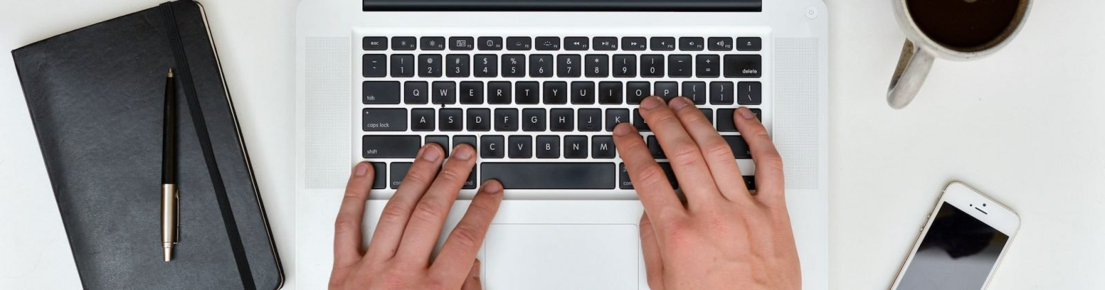 typing on Apple Macbook