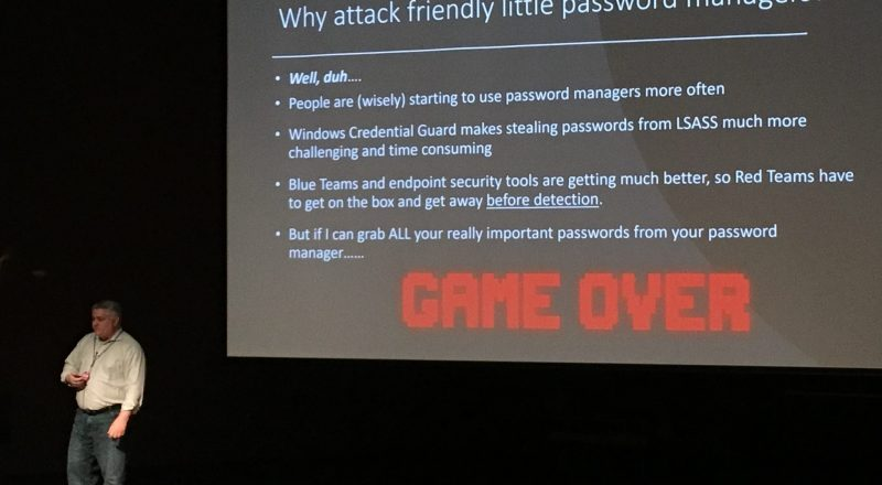 Password Managers David Branscome BSides Greenville 2019