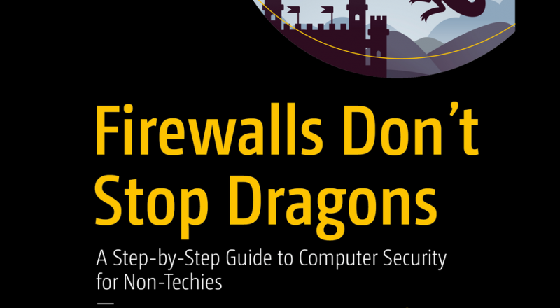 Firewalls Don't Stop Dragons book cover