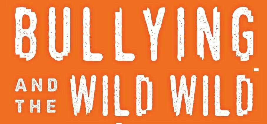 """Cyberbullying and the Wild, Wild Web"" book cover"
