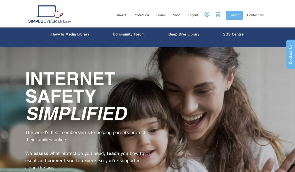 Simple Cyber Life review homepage