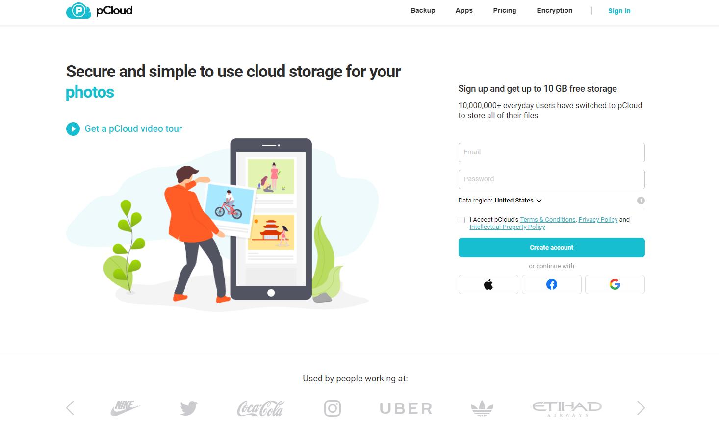 pCloud – Your Safe Space To Store and Share Data
